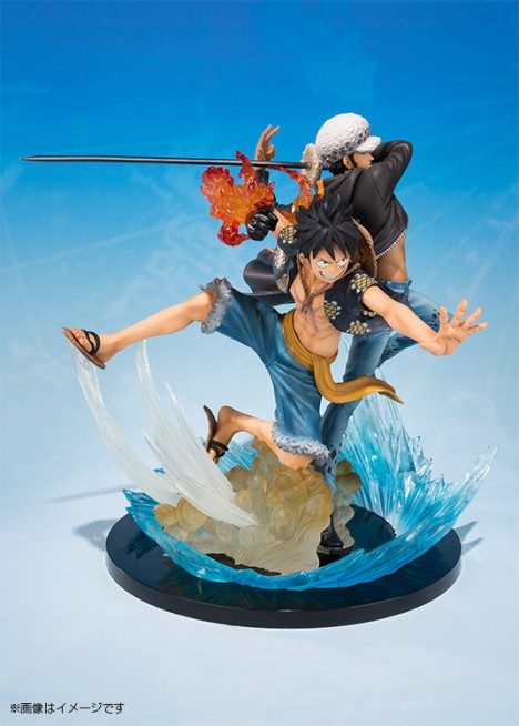 Monkey D. Luffy - Trafalgar Law - One Piece - Figuarts ZERO - -5th Anniversary Edition- Figure  3