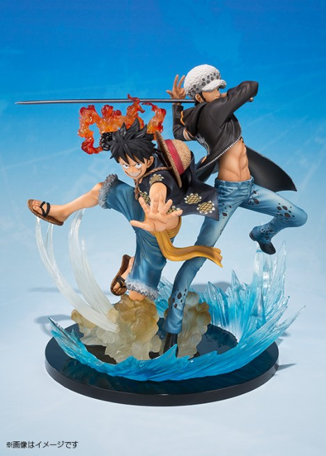 Monkey D. Luffy - Trafalgar Law - One Piece - Figuarts ZERO - -5th Anniversary Edition- Figure  4