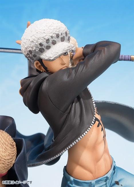 Monkey D. Luffy - Trafalgar Law - One Piece - Figuarts ZERO - -5th Anniversary Edition- Figure  5