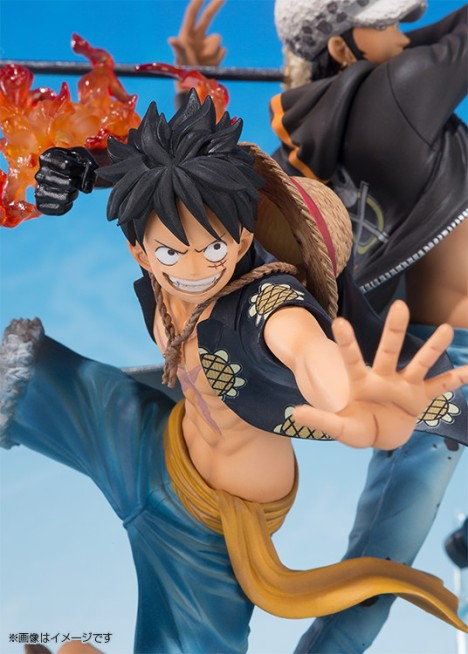 Monkey D. Luffy - Trafalgar Law - One Piece - Figuarts ZERO - -5th Anniversary Edition- Figure  6