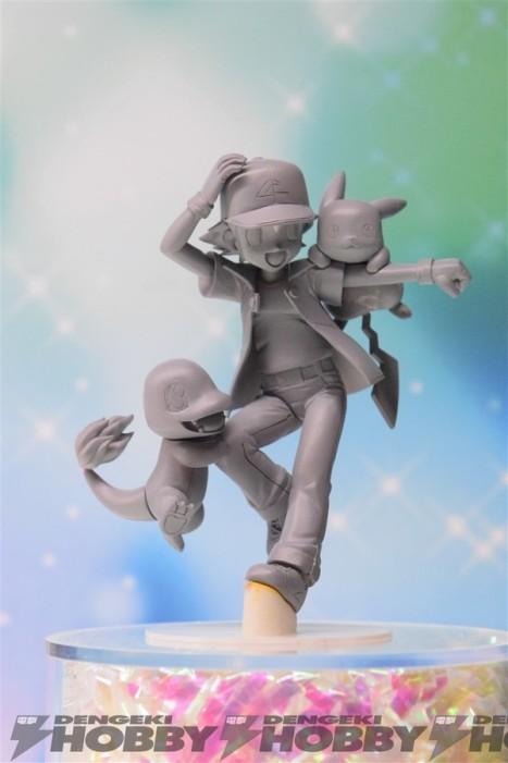 Pocket Monsters - Hitokage - Pikachu - Satoshi - G.E.M. (MegaHouse)