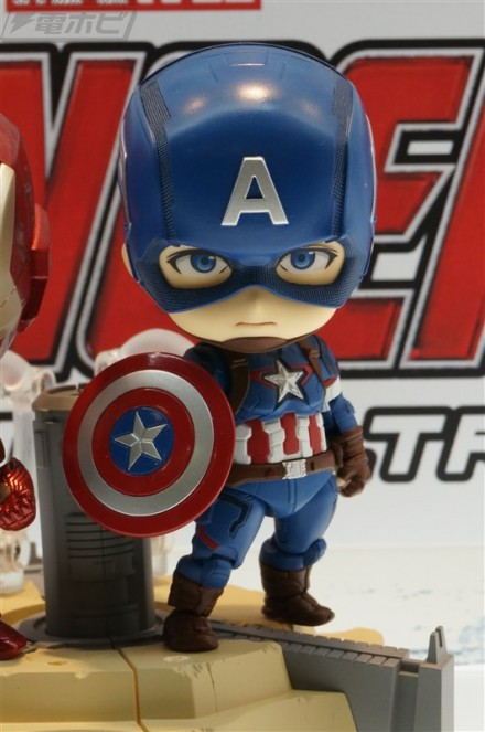 Avengers Age of Ultron - Captain America - Nendoroid - Hero's Edition (GSC)