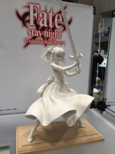 FateStay Night Unlimited Blade Works - Saber - 18 - Dress Ver. (Bell Fine)