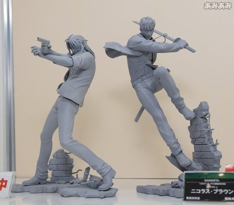 Gangsta - Worick Arcangelo and Nicolas Brown - ARTFX J - 18 (Kotobukiya)