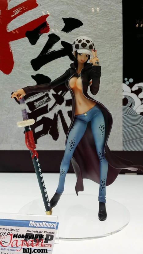 One Piece - Trafalgar Law - Excellent Model - Portrait of Pirates I.R.O -(MegaHouse)