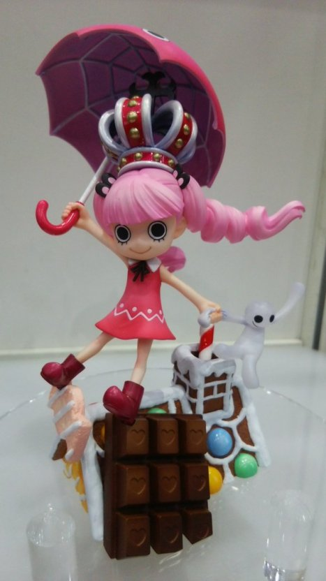 One Piece - Perona - Excellent Model - Portrait Of Pirates MILD - CB-EX (MegaHouse)