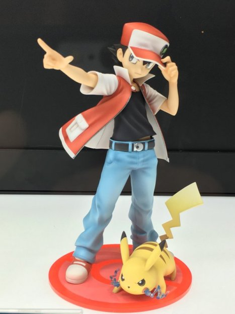 Pocket Monsters - Pikachu - Red - ARTFX J - Pokémon Figure Series - 18 (Kotobukiya)